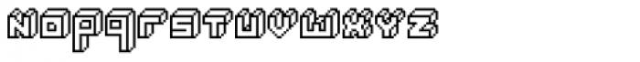 Alabaster Micro Regular Font LOWERCASE