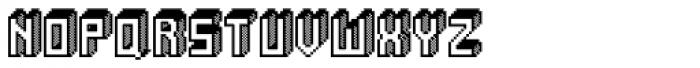 Alabaster Micro Shade I Font UPPERCASE