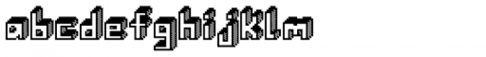 Alabaster Micro Shade I Font LOWERCASE