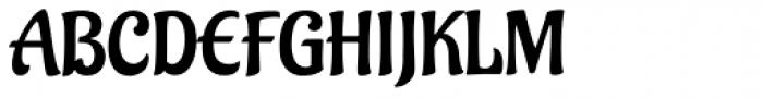 Aladin Pro Font UPPERCASE