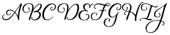 Alana Basic Font UPPERCASE