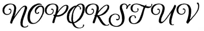 Alana Bold Font UPPERCASE
