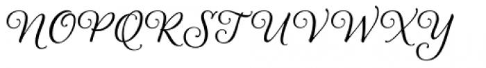 Alana Smooth Font UPPERCASE