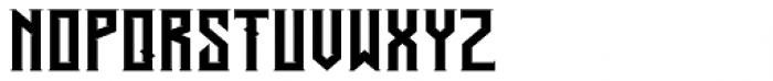 Alardo Regular Font LOWERCASE