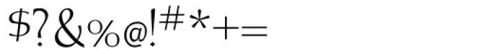 Albe Sans Light Font OTHER CHARS
