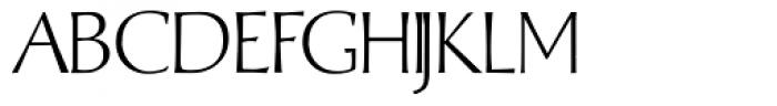 Albe Sans Light Font UPPERCASE