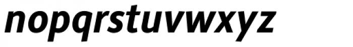 Alber New Bold Italic Font LOWERCASE