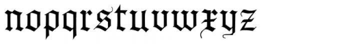 AlbertBetenbuch Extruded Inside Font LOWERCASE