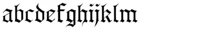 AlbertBetenbuch Font LOWERCASE