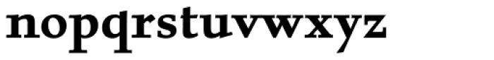 Albertan Pro Bold Font LOWERCASE