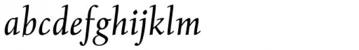 Albertan Pro Book Italic Font LOWERCASE