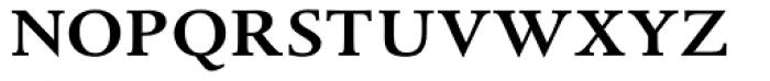 Albertina MT Medium SC Font LOWERCASE