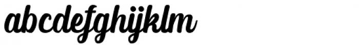 Albertiny Regular Font LOWERCASE