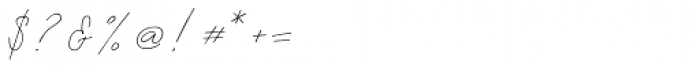 Albiol Regular Font OTHER CHARS