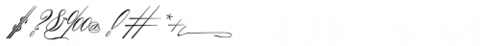 Albion Signature Medium Font OTHER CHARS