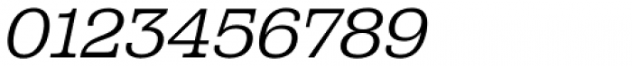 Albiona ExtraLight Italic Font OTHER CHARS