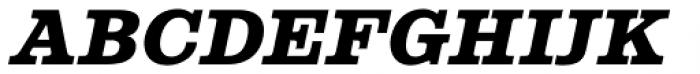 Albiona Heavy Italic Font UPPERCASE