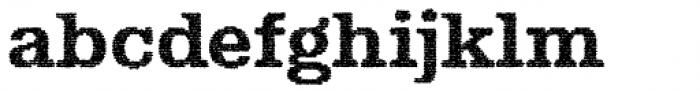 Albiona Inked Bold Font LOWERCASE
