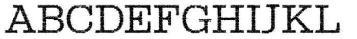 Albiona Inked Extra Light Font UPPERCASE