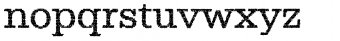 Albiona Inked Light Font LOWERCASE