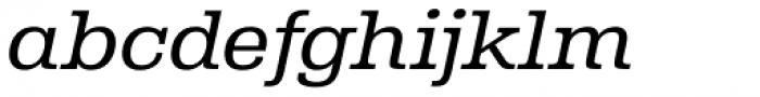 Albiona Light Italic Font LOWERCASE