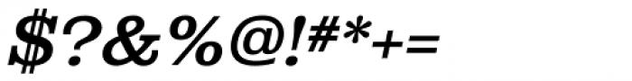Albiona Medium Italic Font OTHER CHARS