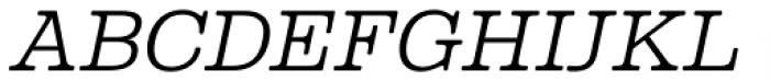 Albiona Soft ExtraLight Italic Font UPPERCASE