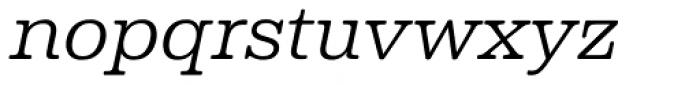 Albiona Soft ExtraLight Italic Font LOWERCASE