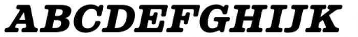 Albiona Soft Heavy Italic Font UPPERCASE