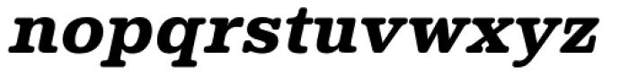 Albiona Soft Heavy Italic Font LOWERCASE