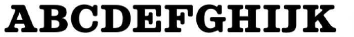 Albiona Soft Heavy Font UPPERCASE
