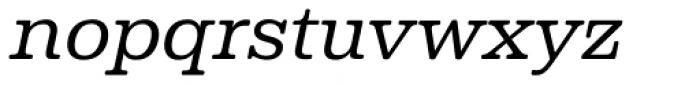 Albiona Soft Light Italic Font LOWERCASE