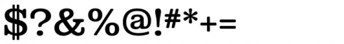 Albiona Soft Medium Font OTHER CHARS