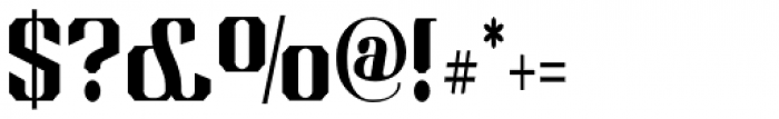 Albion's Americana Companion Font OTHER CHARS