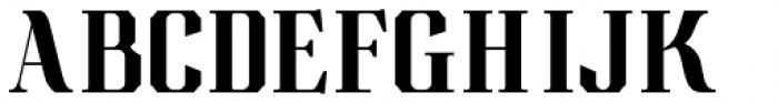 Albion's Americana Companion Font UPPERCASE