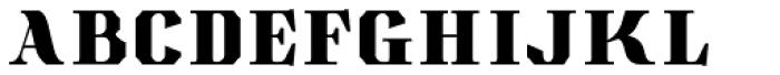 Albion's Americana Companion Font LOWERCASE