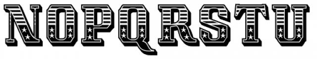 Albion's Americana Font UPPERCASE