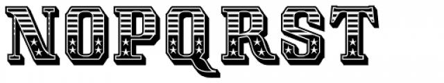 Albion's Americana Font LOWERCASE