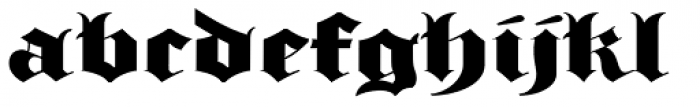 Albion's Old Masthead Font LOWERCASE