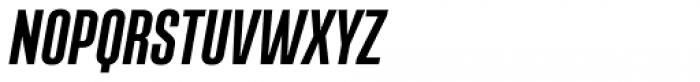 Albireo Condensed Bold Italic Font UPPERCASE