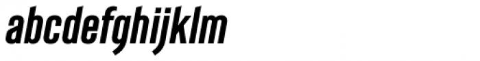 Albireo Condensed Bold Italic Font LOWERCASE