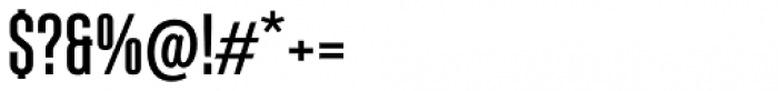 Albireo Condensed Medium Font OTHER CHARS