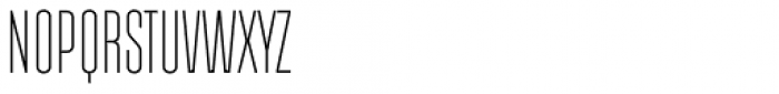 Albireo Variable Font UPPERCASE