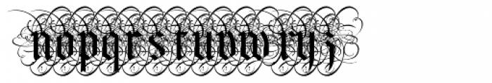 Albo Font UPPERCASE