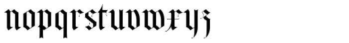 Albo Font LOWERCASE