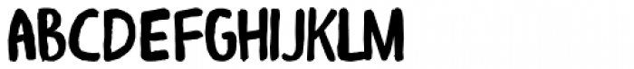 Alboroto Font LOWERCASE