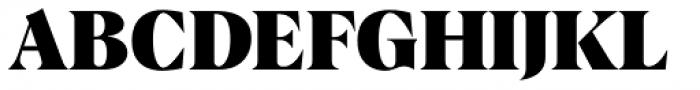 Albra Black Font UPPERCASE