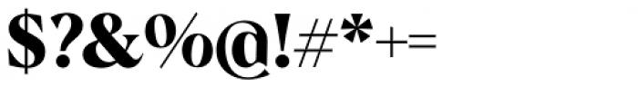 Albra Bold Font OTHER CHARS