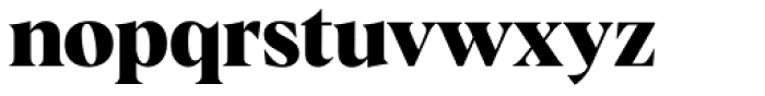 Albra Bold Font LOWERCASE