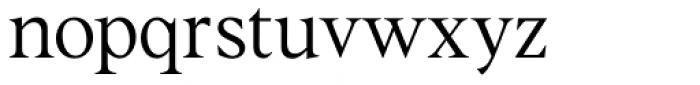 Albra Text Light Font LOWERCASE